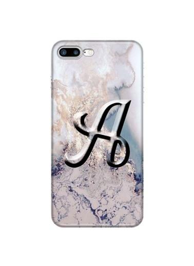 People's Cover iPhone 8 Plus Baskılı Harfli Telefon Kılıfı Renkli